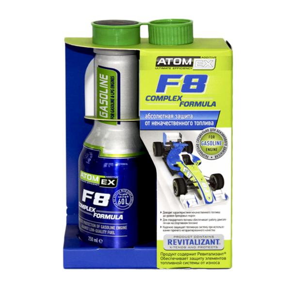 XADO Atomex F8 Complex Formula- Phụ gia cải thiện chất lượng xăng