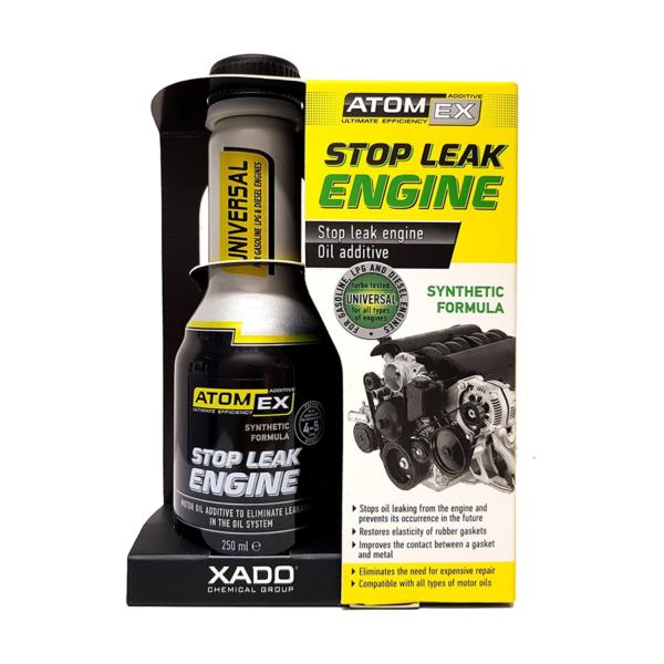 XADO Atomex Stop Leak Engine- Phụ gia chống rò rỉ dầu nhớt