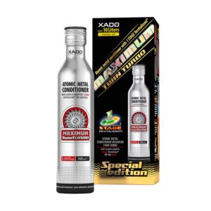 Phụ gia dầu nhớt Xado Atomic Metal Conditioner Maximum Twin Turbo