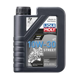 Dầu nhớt bán tổng hợp LIQUI MOLY 4T STREET 10W30